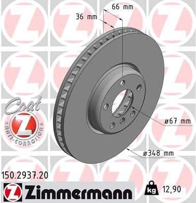 DISC FRANA ZIMMERMANN 150.2937.20