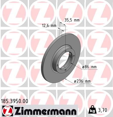 DISC FRANA ZIMMERMANN 185.3950.00