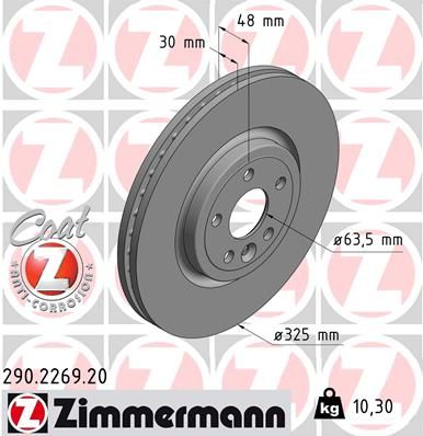 DISC FRANA ZIMMERMANN 290.2269.20