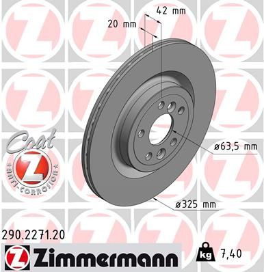 DISC FRANA ZIMMERMANN 290.2271.20