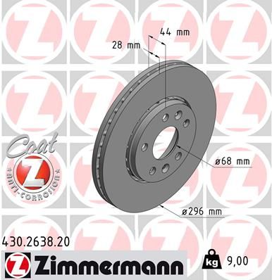 DISC FRANA ZIMMERMANN 430.2638.20
