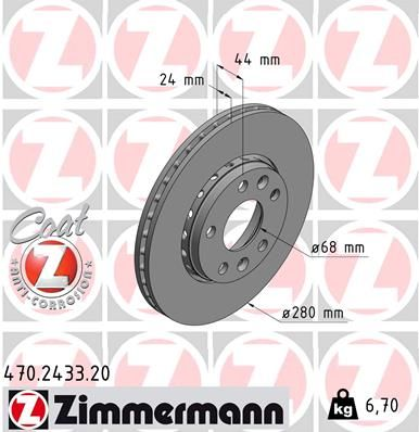 DISC FRANA ZIMMERMANN 470.2433.20