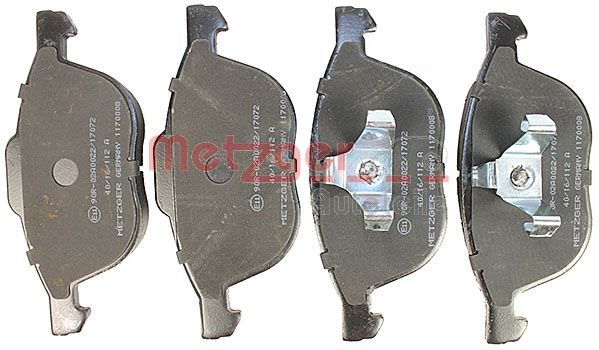 SET PLACUTE FRANA FRANA DISC METZGER 1170008