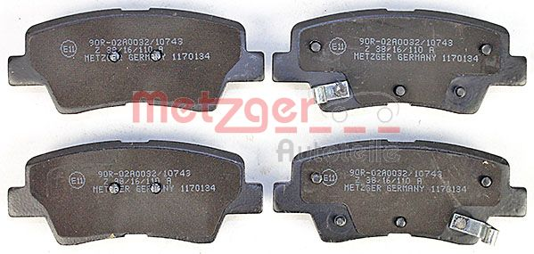 SET PLACUTE FRANA FRANA DISC METZGER 1170134