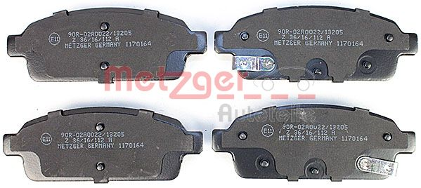 SET PLACUTE FRANA FRANA DISC METZGER 1170164
