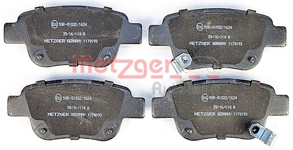 SET PLACUTE FRANA FRANA DISC METZGER 1170193