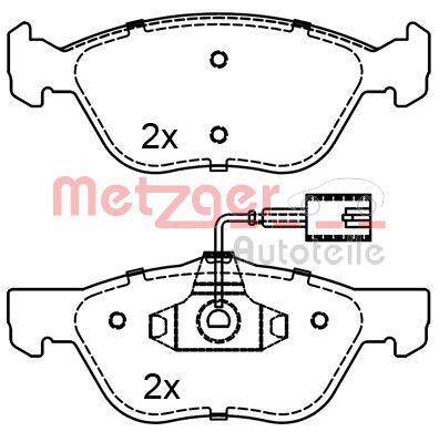 SET PLACUTE FRANA FRANA DISC METZGER 1170285