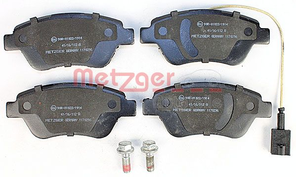 SET PLACUTE FRANA FRANA DISC METZGER 1170296