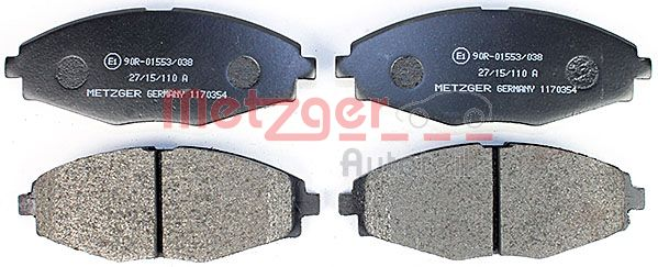 SET PLACUTE FRANA FRANA DISC METZGER 1170354
