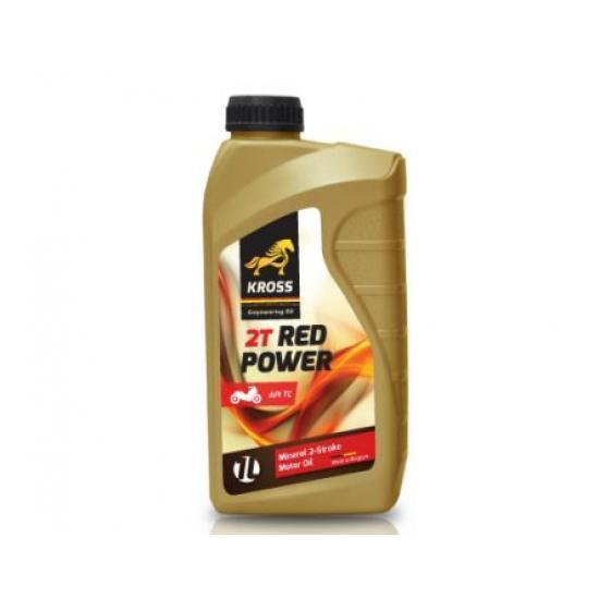 ulei motor kross red power 2t, 1l
