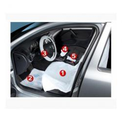 KIT PROTECTII AUTO 5 IN 1 HERZKRAFT SET 100 BUCATI
