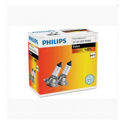 SET 2 BECURI FAR H7 55W 12V VISION PHILIPS